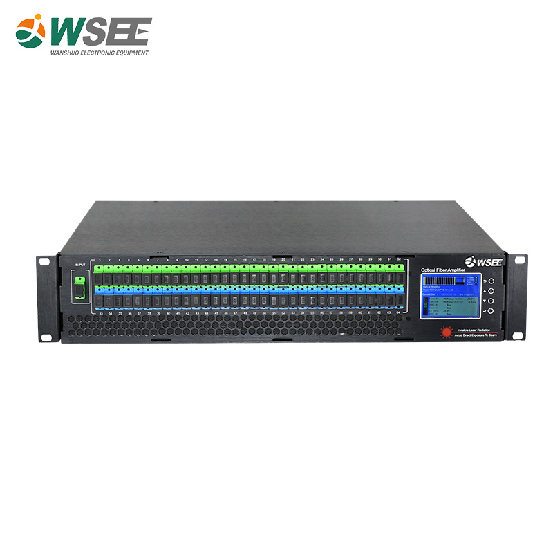 32 Ports 1550nm Er/Yb Co-doped Optical Amplifier