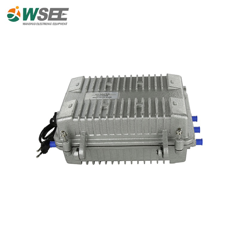WS-OR409 Four-way Outdoor Optical Receiver with Return Path