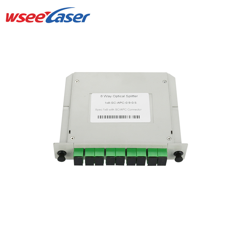 Insert Type Optical Fiber PLC Splitter