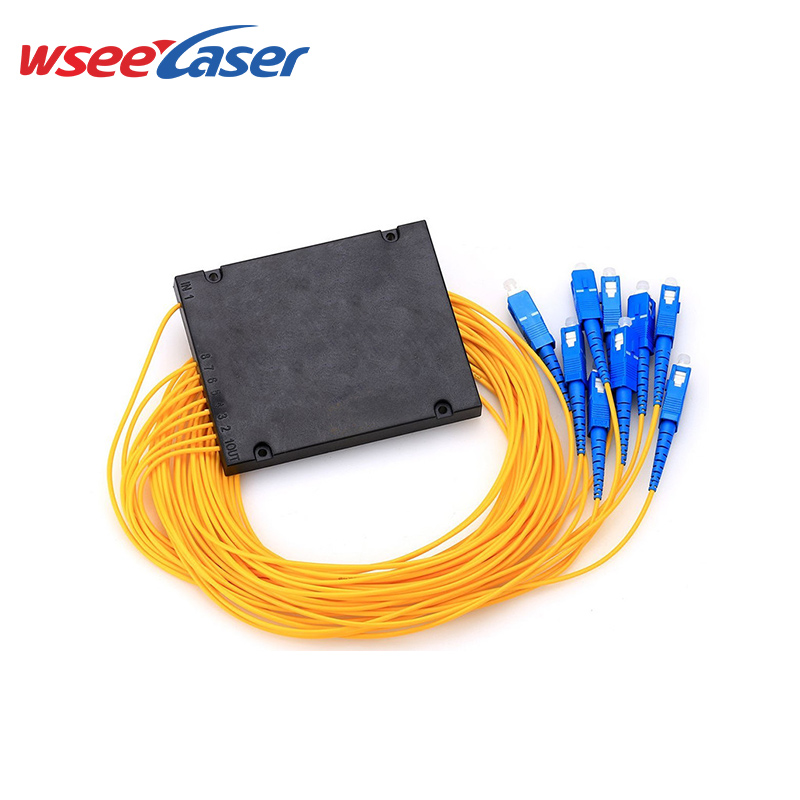 ABS Box Optical Fiber PLC Splitter