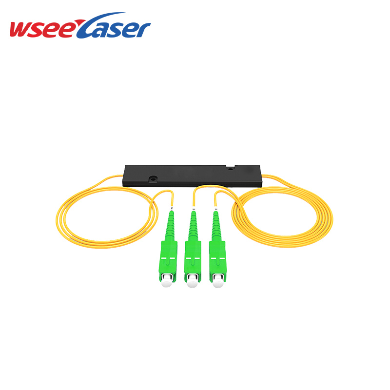 1x2 Optical Fiber Splitter